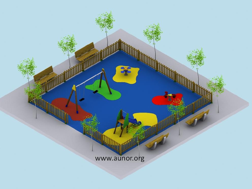 Venta de parques infantiles ofertas de parques infantiles for Plano escuela infantil