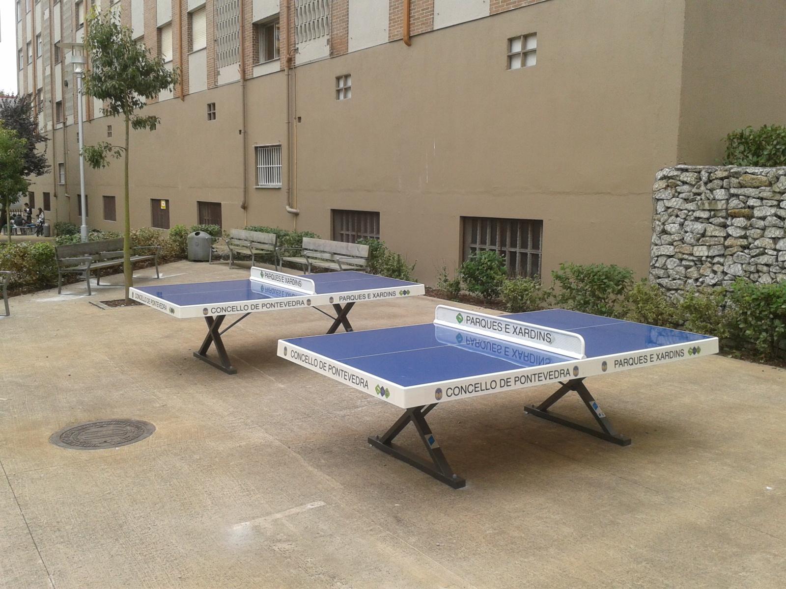 mesas de ping pong antivandalicas de exterior aunor