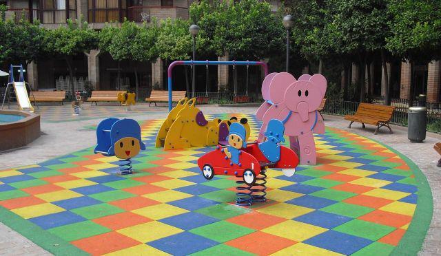 parques infantiles urbanos