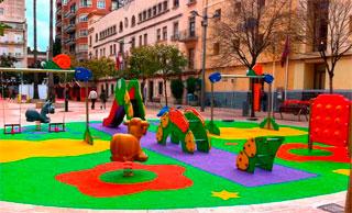parques infantiles aunor